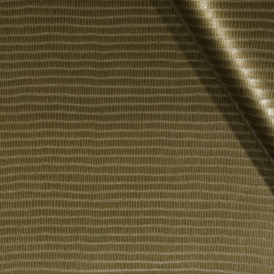 FAUX LEATHER II Unagi Fabric - Bronze