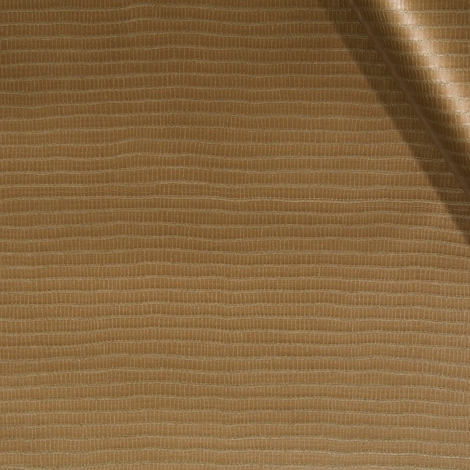 FAUX LEATHER II Unagi Fabric - Copper