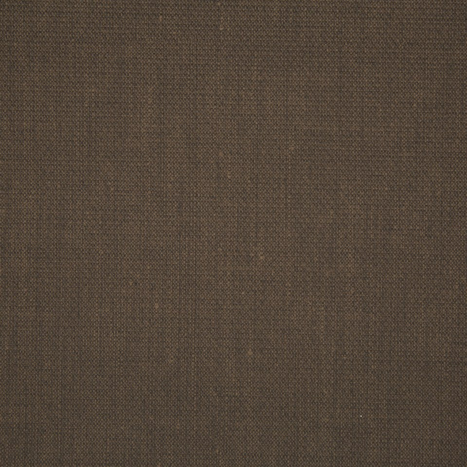FAUX LEATHER II Canvas Texture Fabric - Chocolate