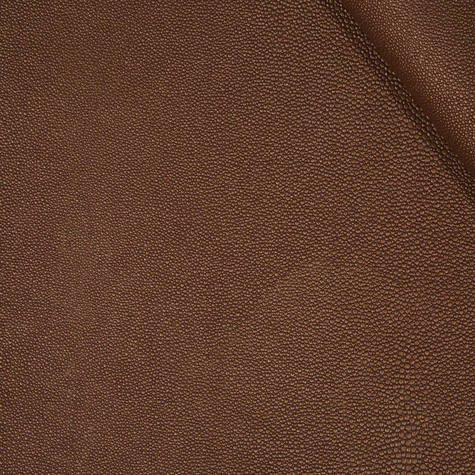 FAUX LEATHER II Stone Luxe Fabric - Mesa