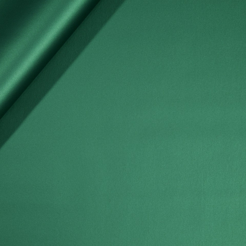 FAUX LEATHER II Metal Luxe Fabric - Malachite