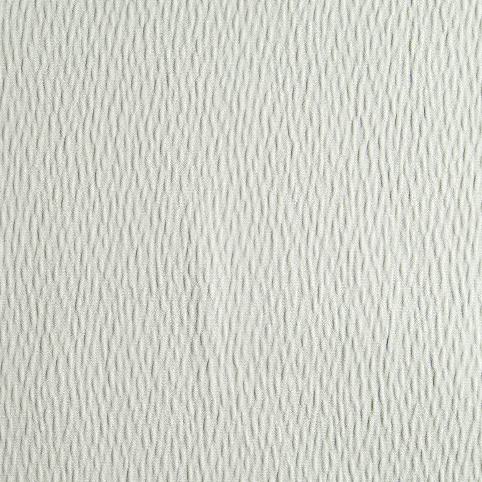 DRAPEABLE ELEGANT TEXTURES Ripple Solid Fabric - Dove