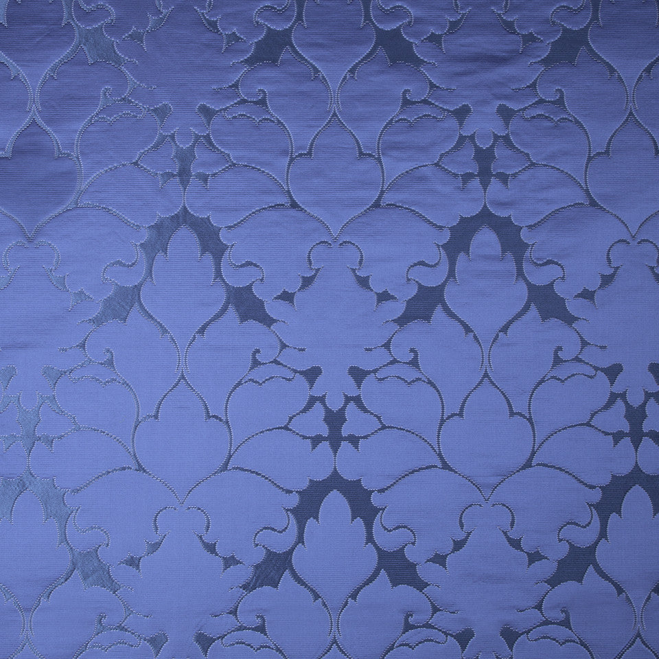 SILK BEST SELLERS 15 Blossom Frame Fabric - Island Blue