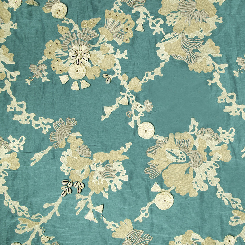 MARAVILHA Sea Queen Fabric - Oasis Green