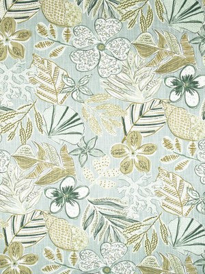 Mixed Motifs Fabric - Dew