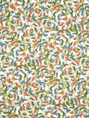Soft Floral Fabric - Dew