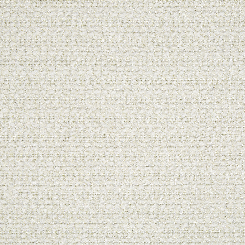 PLUSH CHENILLE SOLIDS Hunter Weave Fabric - Eggshell