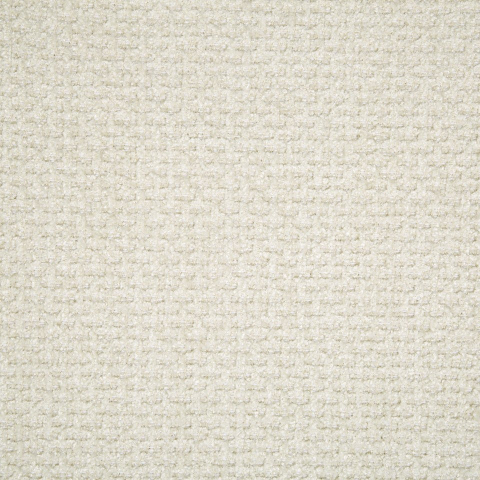 PLUSH CHENILLE SOLIDS Wilson Weave Fabric - Ivory