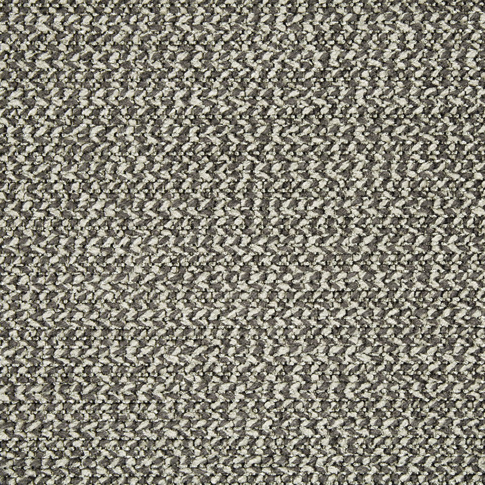 PLUSH CHENILLE SOLIDS Hunter Weave Fabric - Ash