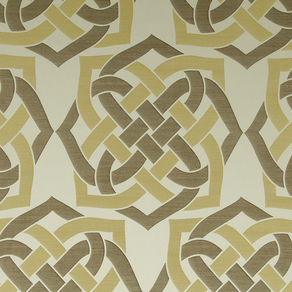 Eclectic Multi-Use Fabrics II Gordian Knot Fabric - Goldenrod