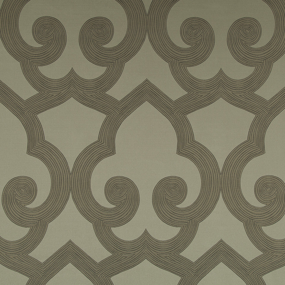 Eclectic Multi-Use Fabrics II Tucked Frame Fabric - Taupe