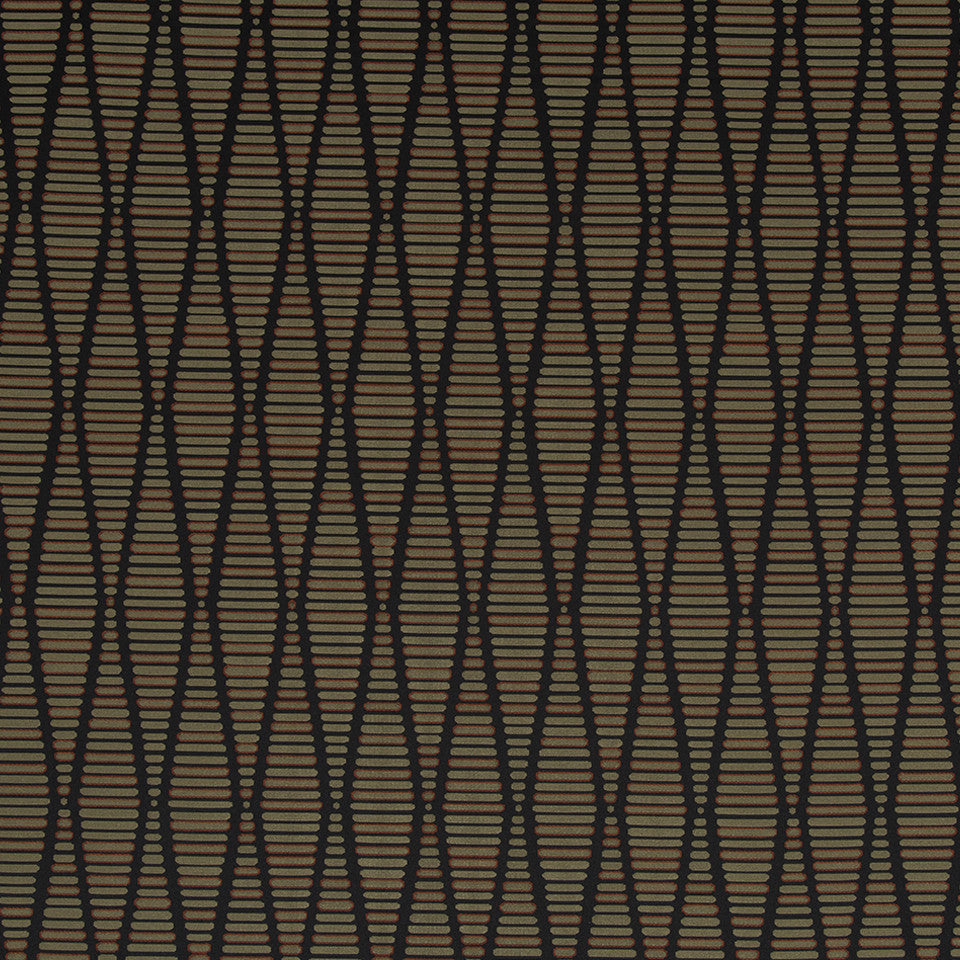 Eclectic Multi-Use Fabrics II Edge Stitch Fabric - Ebony
