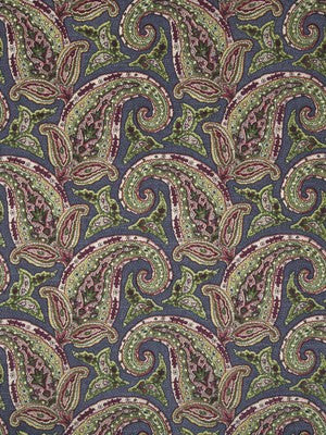 New Paisley Fabric - Berry Crush