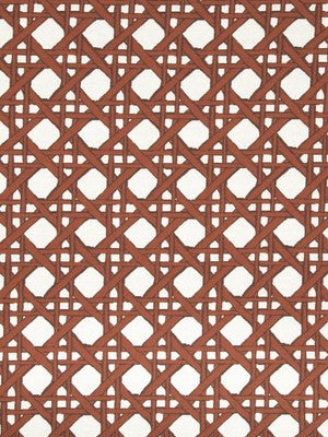 Fresh Cane Bk Fabric - Coral
