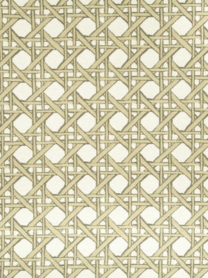 Fresh Cane Bk Fabric - Gold Leaf
