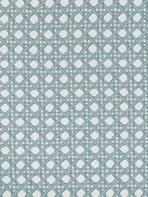 Fresh Cane Bk Fabric - Pool