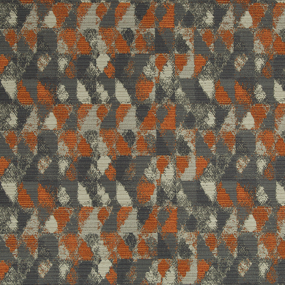 KIRK NIX THE PENTHOUSE New Frontier Fabric - Smoke