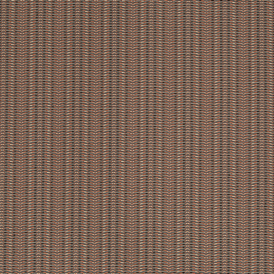KIRK NIX THE PENTHOUSE Syncopation Fabric - Ember