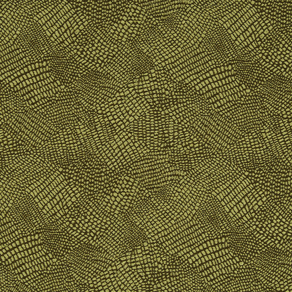 KIRK NIX THE PENTHOUSE Slither Fabric - Lemon Drop