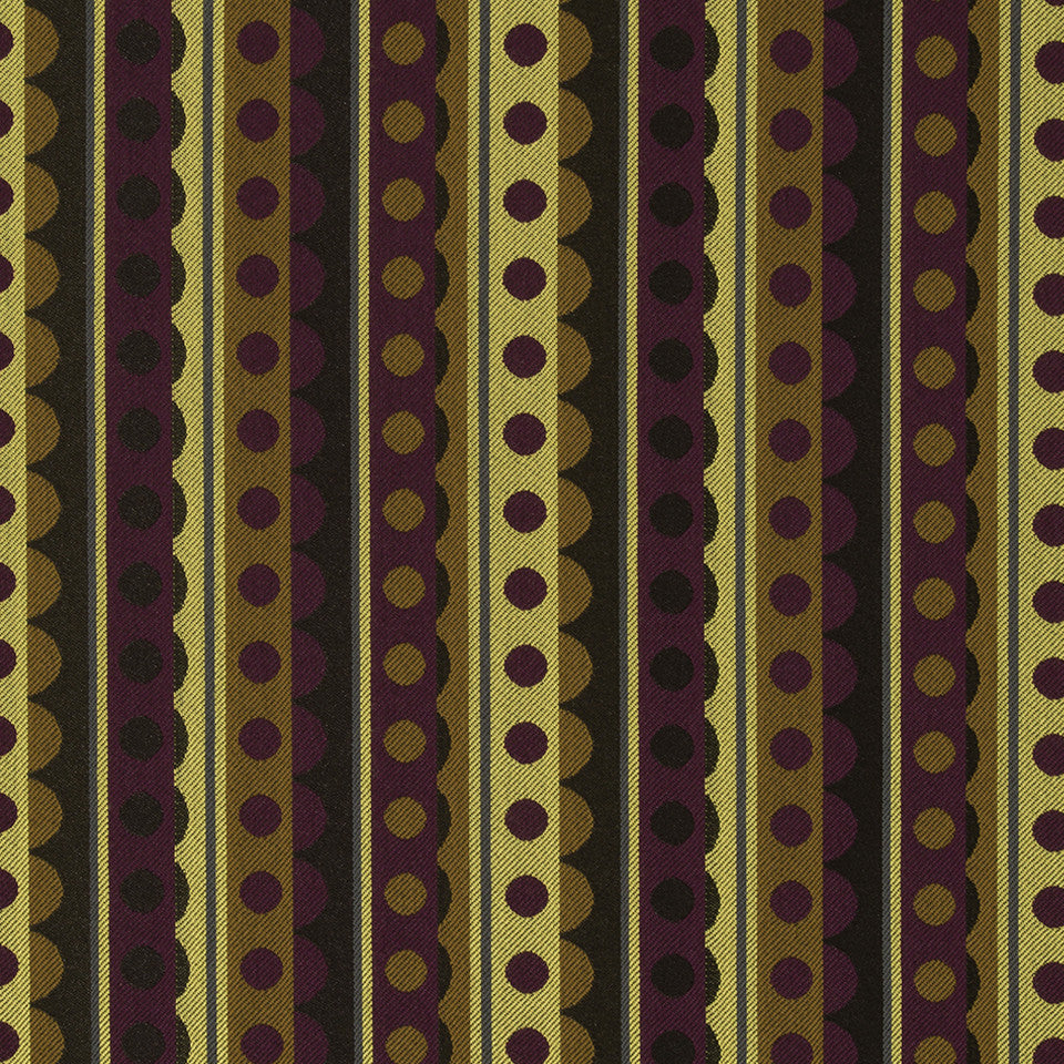 KIRK NIX THE PENTHOUSE Zou Zou Fabric - Cocoa Bean