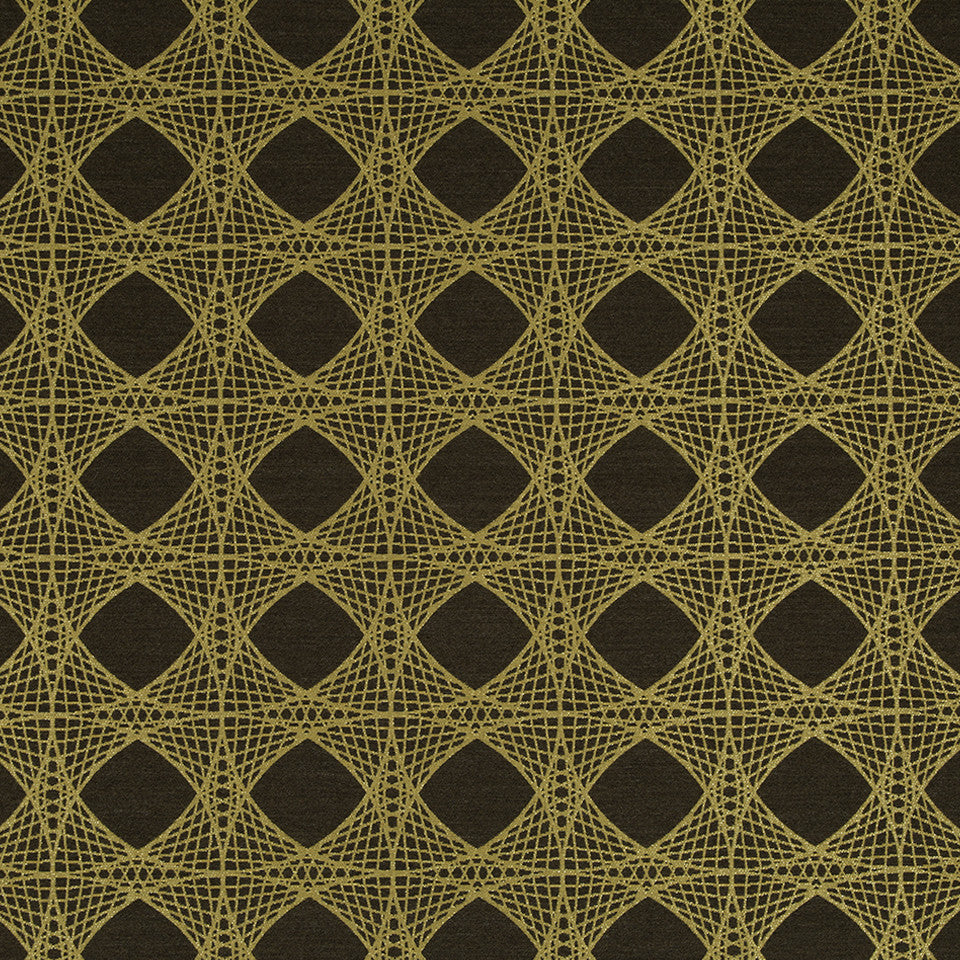 KIRK NIX THE PENTHOUSE Mystery Net Fabric - Cocoa Bean
