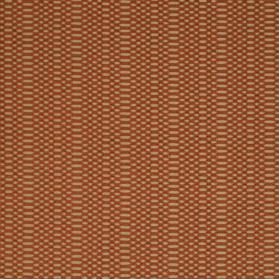 KIRK NIX THE PENTHOUSE Tam Tam Fabric - Ember