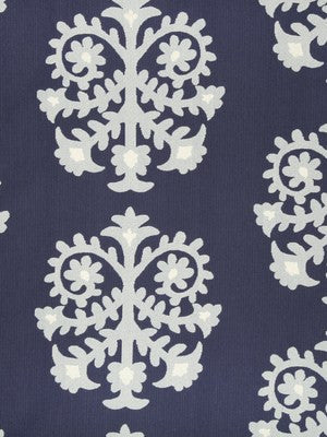Top Motif Rr Fabric - Indigo