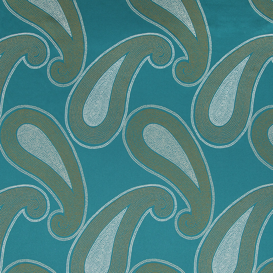 KIRK NIX THE PENTHOUSE Ivory Coast Fabric - Curacao