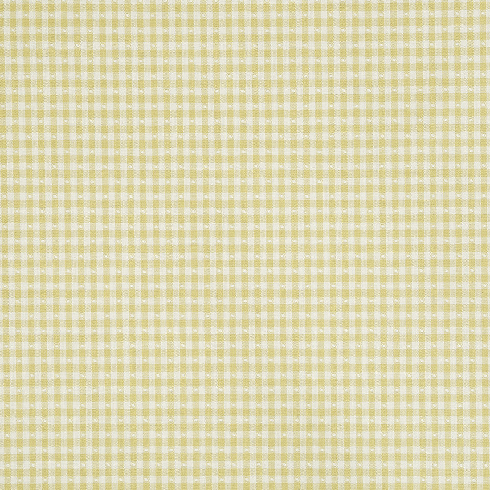 COLOR LIBRARY MULTI-PURPOSE: CHOCOLATE-LEMONGRASS-PEONY Betsy Gingham Fabric - Sunray