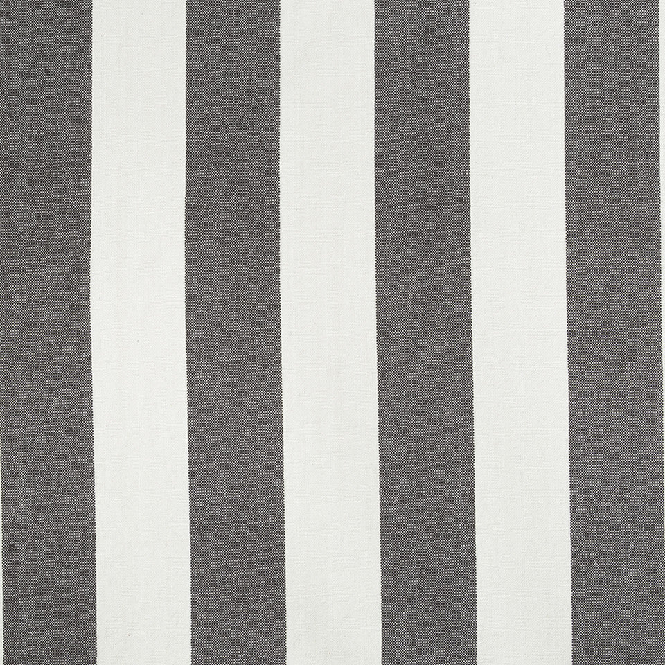 COLOR LIBRARY MULTI-PURPOSE: CHOCOLATE-LEMONGRASS-PEONY Cantina Stripe Fabric - Truffle