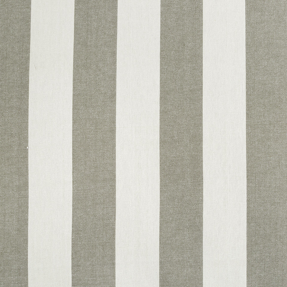 COLOR LIBRARY MULTI-PURPOSE: GLACIER-PEWTER-DRIFTWOOD Cantina Stripe Fabric - Bark