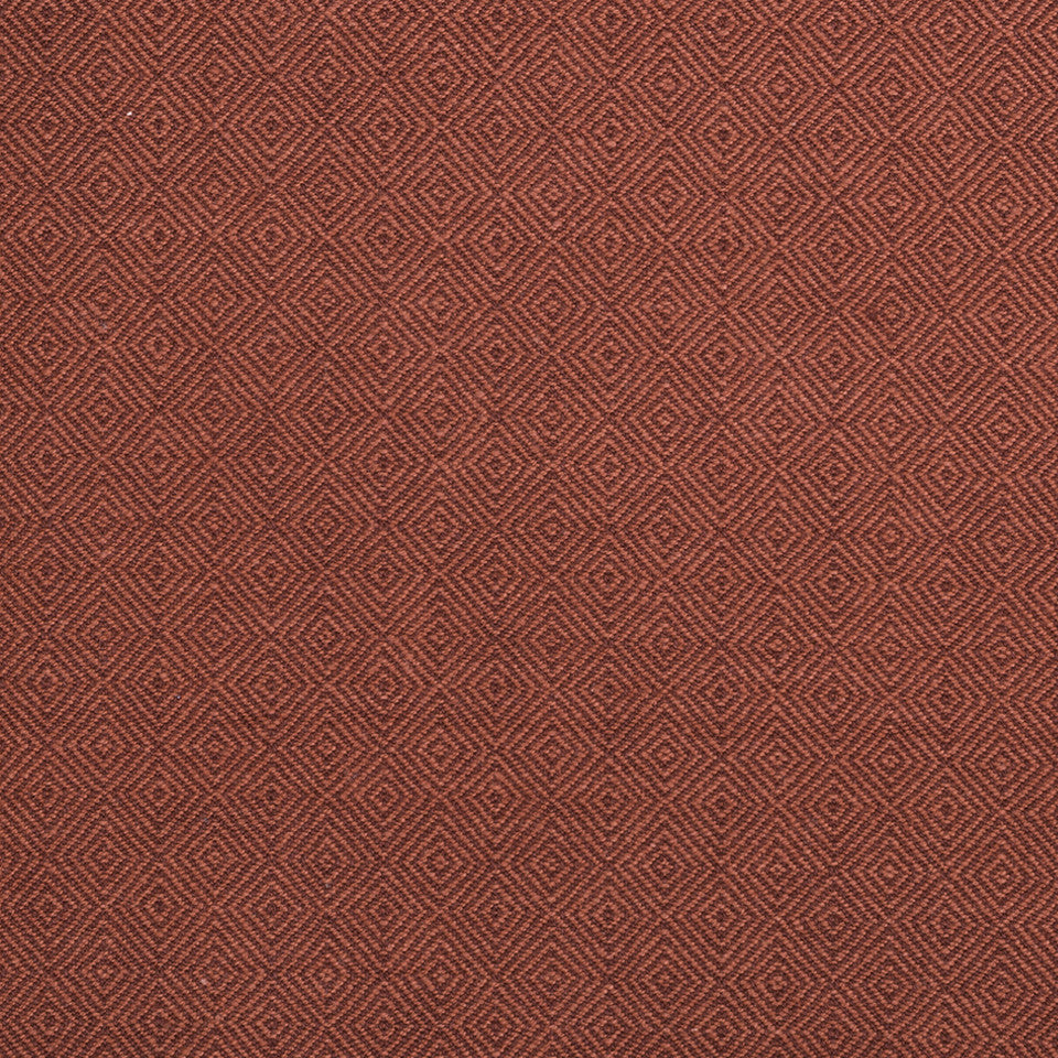 COLOR LIBRARY MULTI-PURPOSE: CHOCOLATE-LEMONGRASS-PEONY Inner Geo Fabric - Lacquer Red