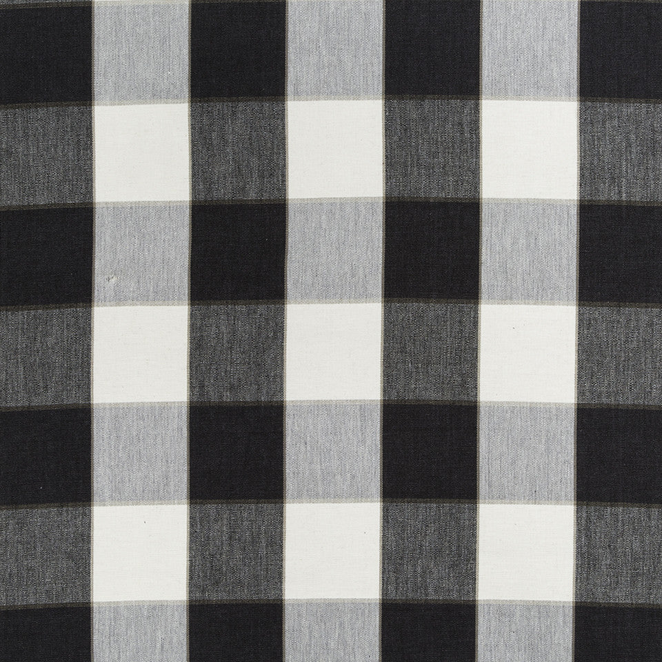 COLOR LIBRARY MULTI-PURPOSE: GLACIER-PEWTER-DRIFTWOOD Kal Plaid Fabric - Night Sky