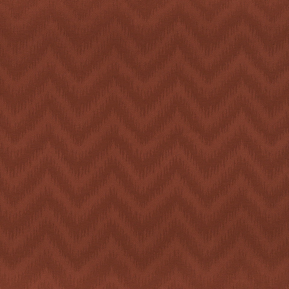 COLOR LIBRARY MULTI-PURPOSE: CHOCOLATE-LEMONGRASS-PEONY Abila Wave Fabric - Lacquer Red