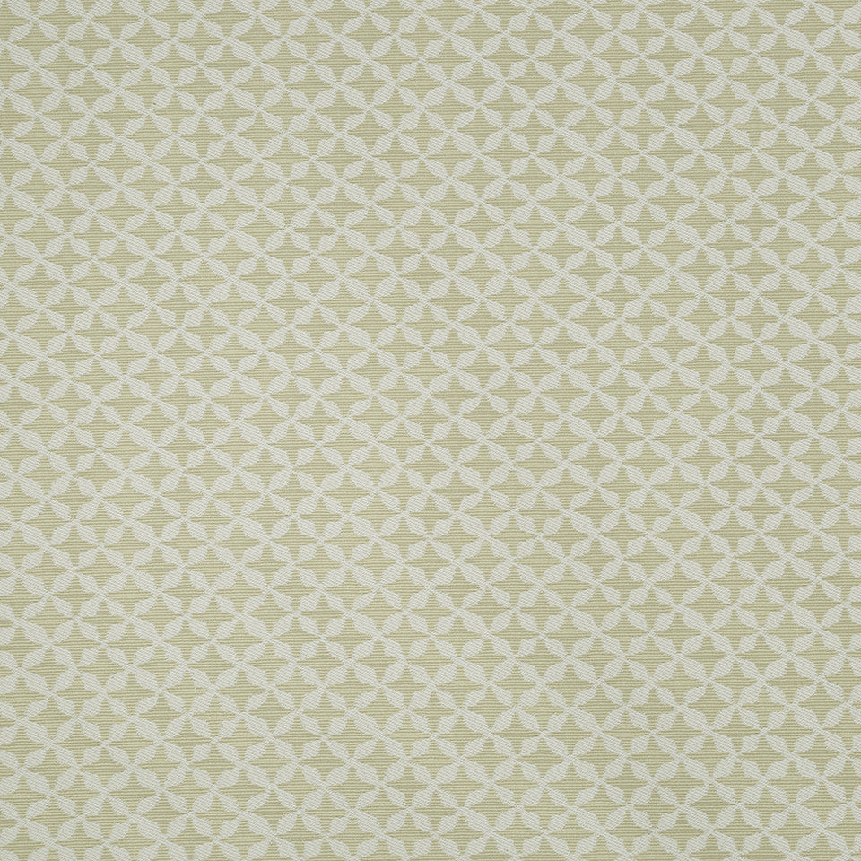 COLOR LIBRARY MULTI-PURPOSE: CHOCOLATE-LEMONGRASS-PEONY Clover Spin Fabric - Straw
