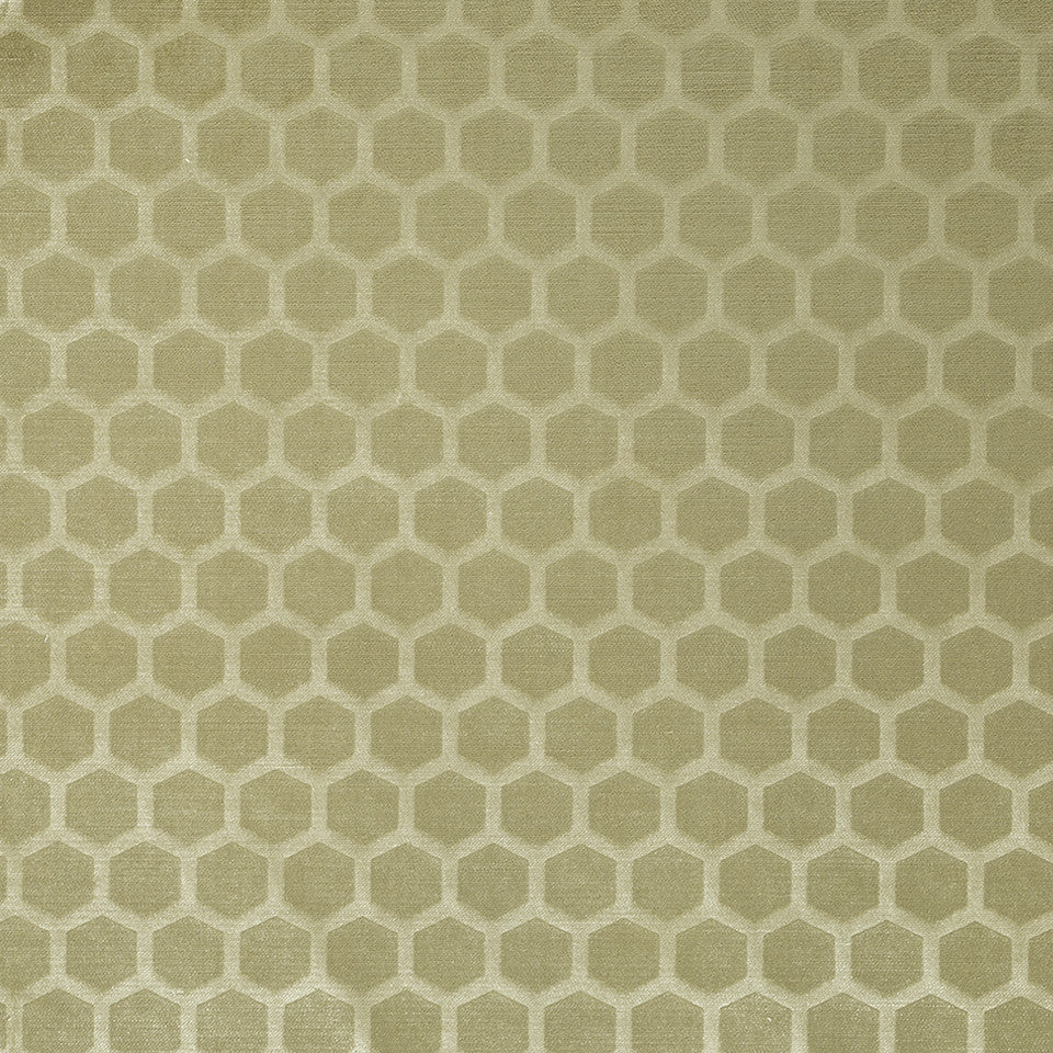 COLOR LIBRARY MULTI-PURPOSE: CHOCOLATE-LEMONGRASS-PEONY Soft Hex Fabric - Straw