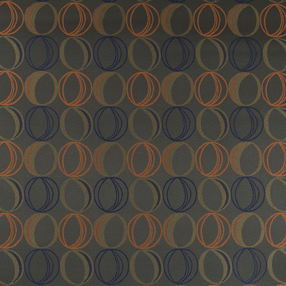 CRYPTON MODERN UPH II Oh Dear Fabric - Charcoal
