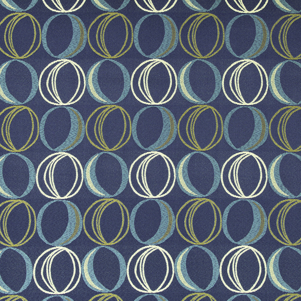 CRYPTON MODERN UPH II Oh Dear Fabric - Royal