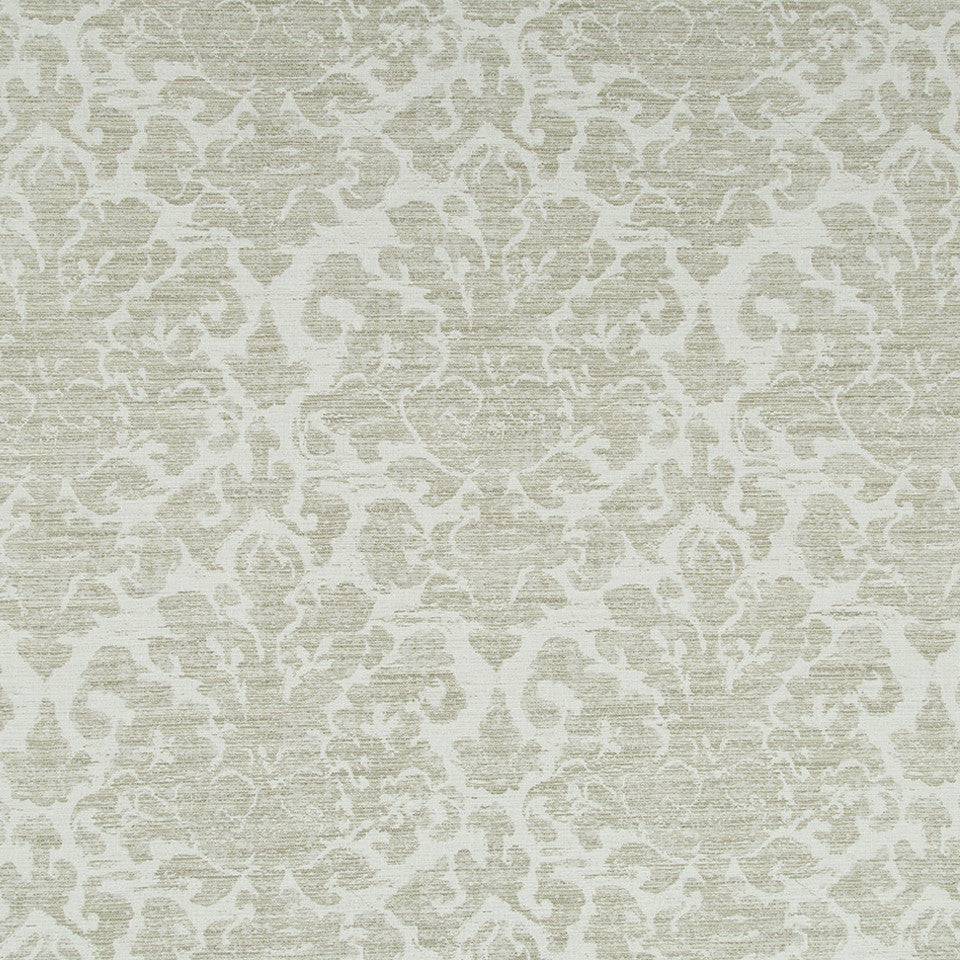 GLACIER Dusty Flora Fabric - Glacier