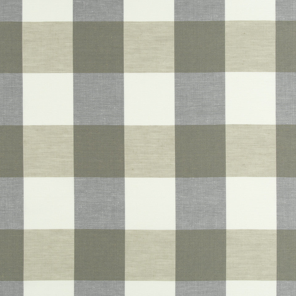 SANDSTONE Checkered Out Fabric - Sandstone