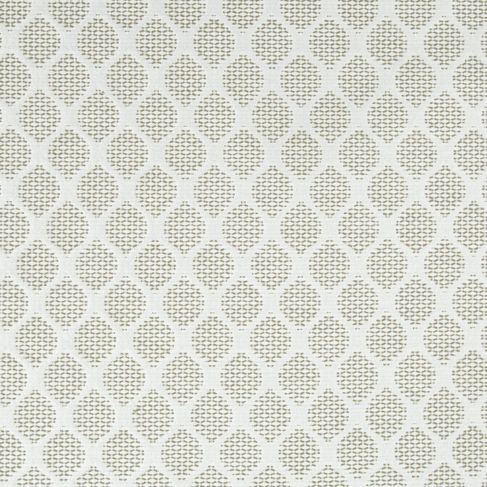 GLACIER Modern Links Fabric - Glacier