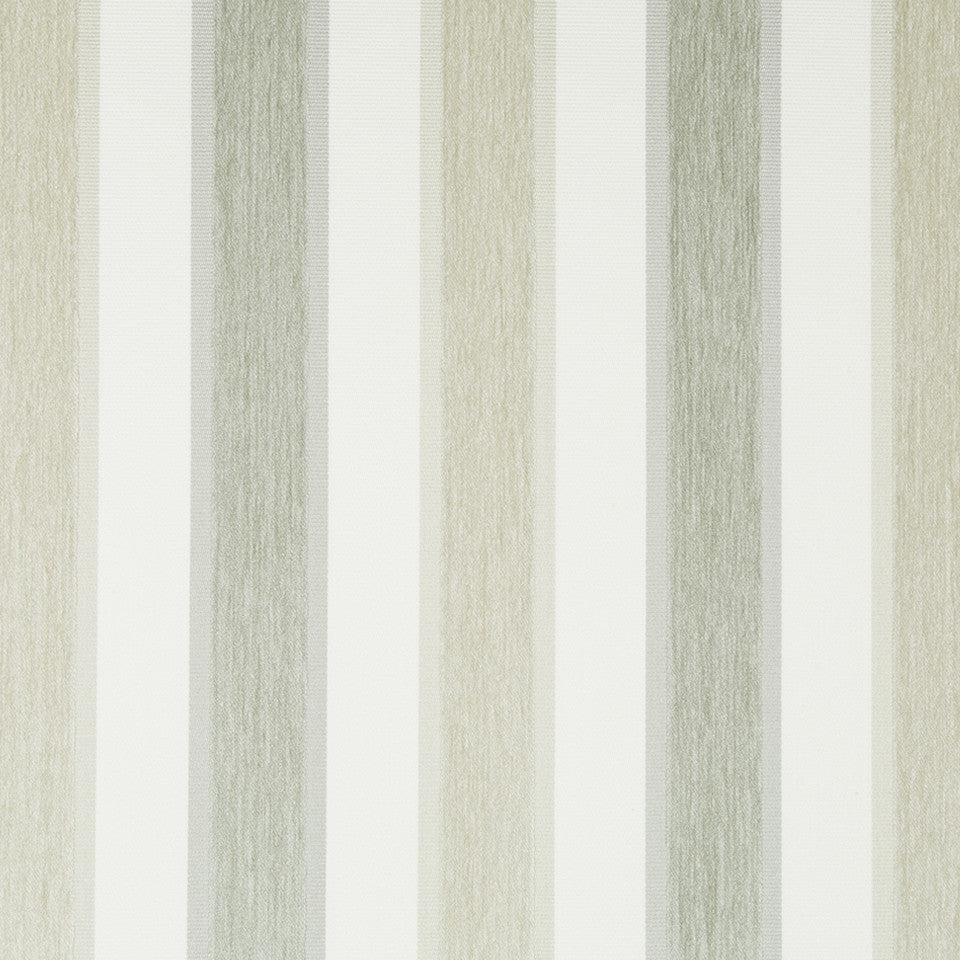 GLACIER High Lo Stripe Fabric - Glacier