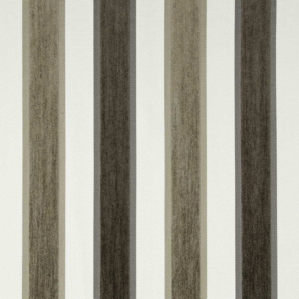 MICA High Lo Stripe Fabric - Mica