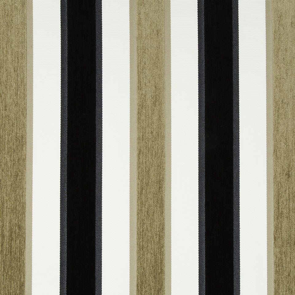 SANDSTONE High Lo Stripe Fabric - Sandstone