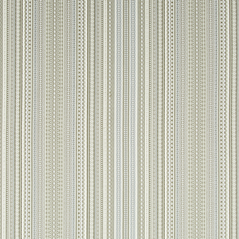 DRIFTWOOD Fun Stripe Fabric - Driftwood