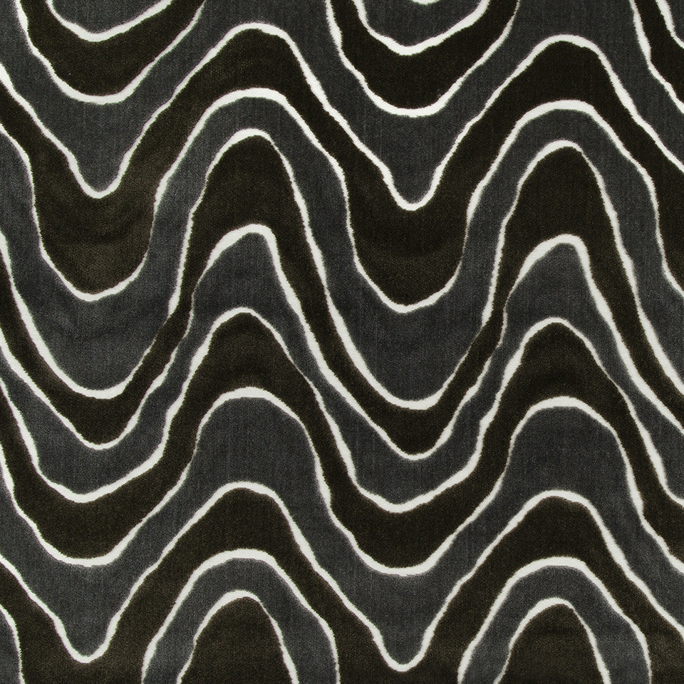 MICA Lush Wave Fabric - Mica