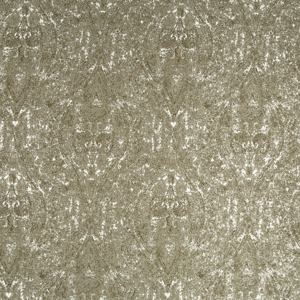 Ogee Paisley Fabric - Bronze