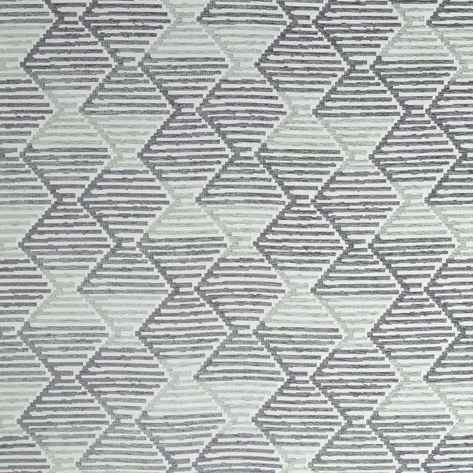 Ombre Step Bk Fabric - Sage
