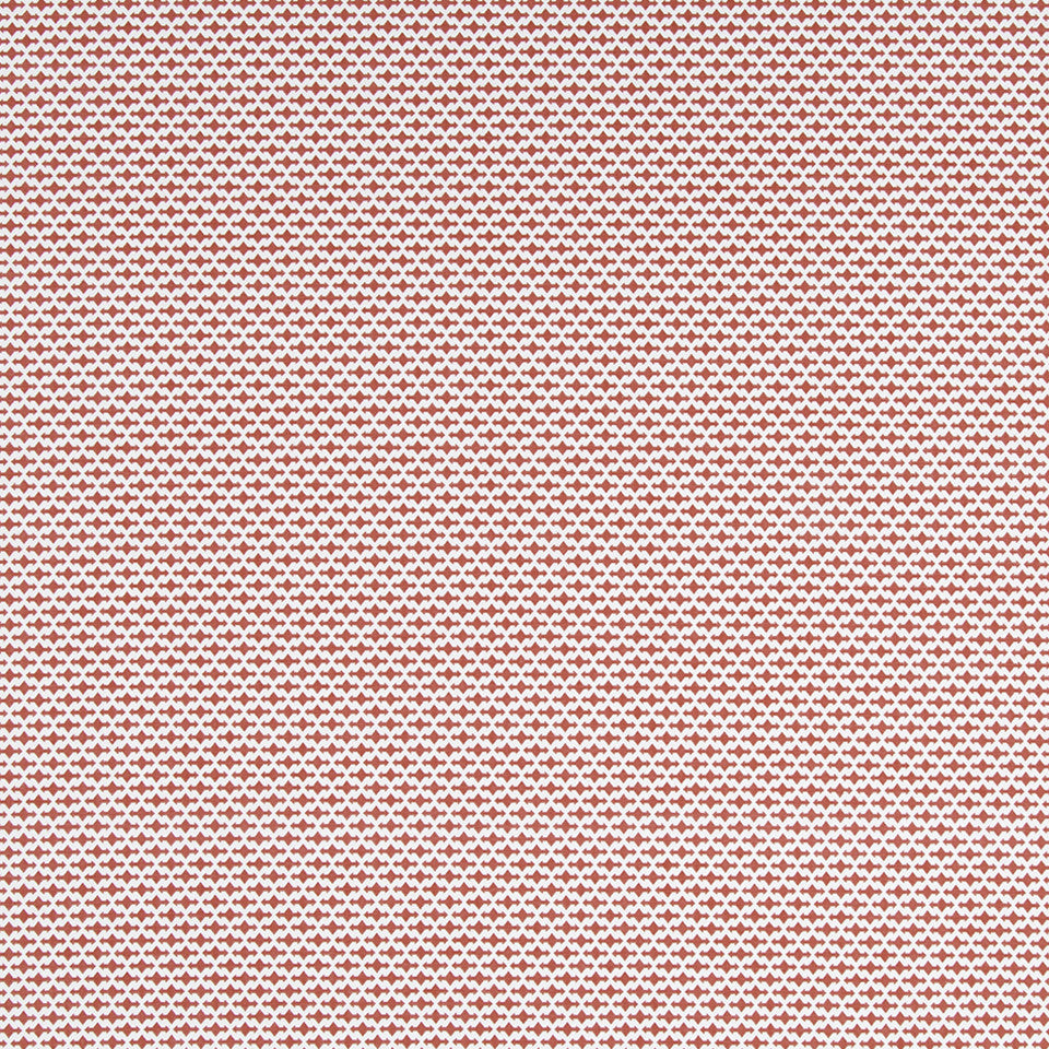 Dash Motifs Fabric - Coral