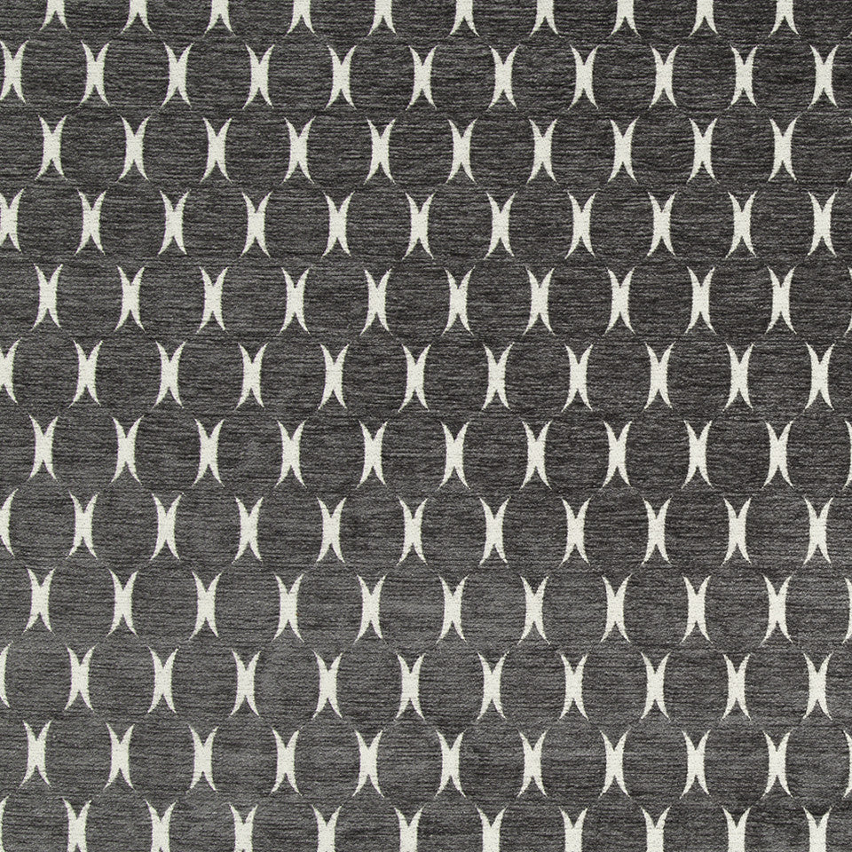 Plush Form Bk Fabric - Charcoal